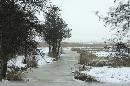 winterlandschap omgeving Meppel
